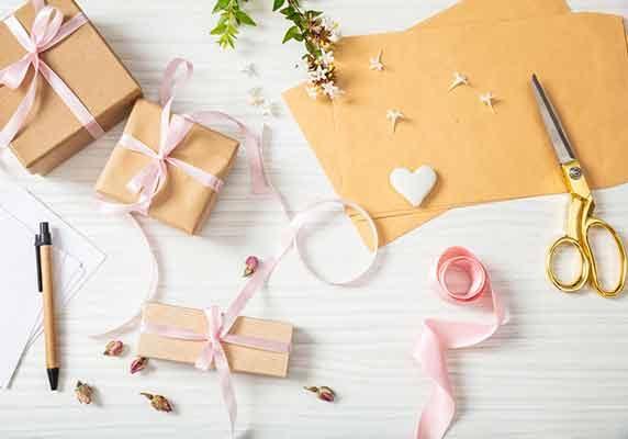 Slå in din gåva på ett originellt sätt